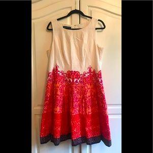 Jones New York Fit & Flare Dress